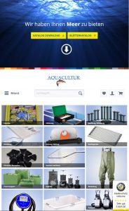 Aquacultur - Webdesign und SEO