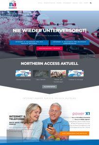 Northern Access - Webdesign