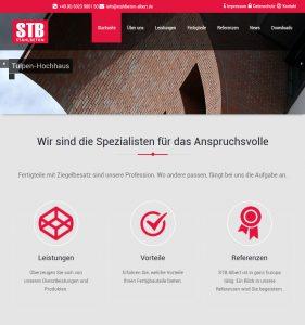 Stahlbeton-Albert - Webdesign